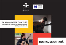 Institutul Cervantes recital chitara