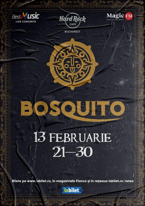 Afiș Concert Bosquito