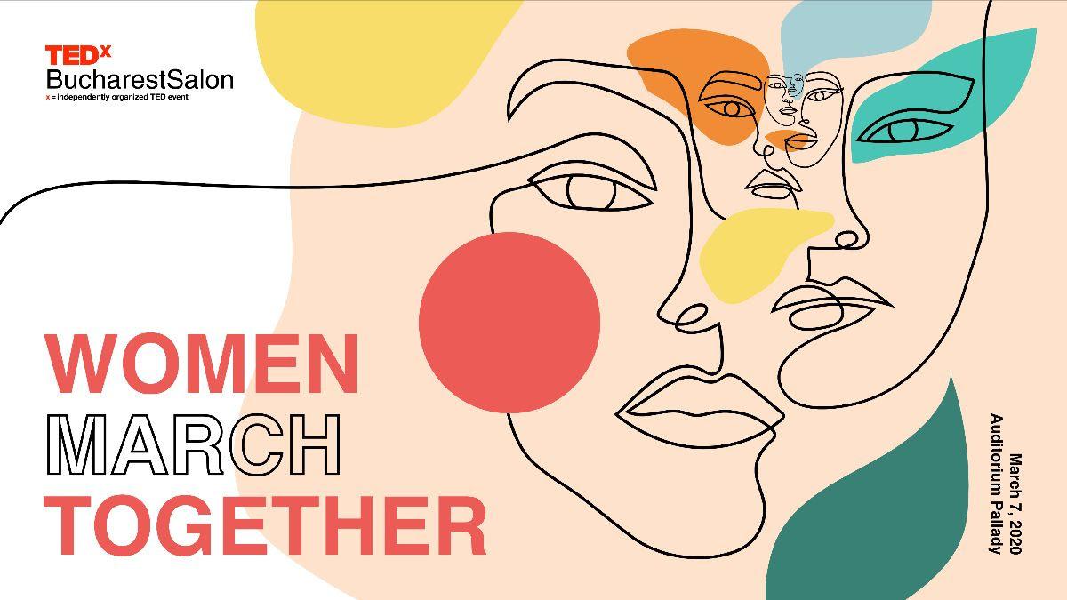 Madalina Uceanu Women March Together