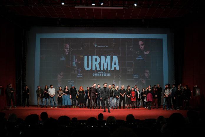 Filmul Urma,poză cu echipa