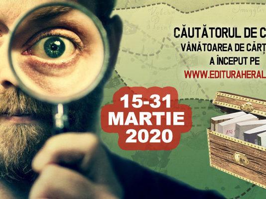 cautatorul_de_comori_2020 , Editura Herald afiș