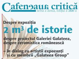 Cafeneaua critică la Galateea afiș