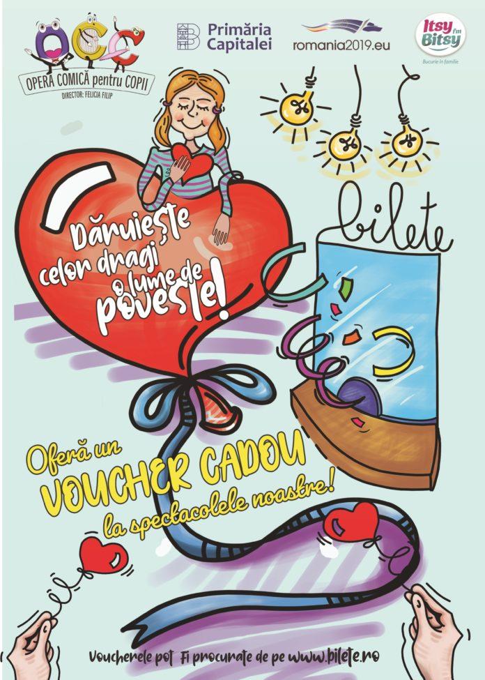 afis Opera Comică pentru Copii