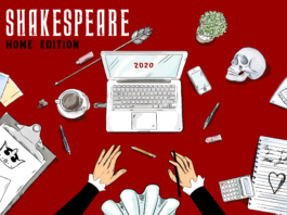 SHAKESPEARE HOME EDITION afis
