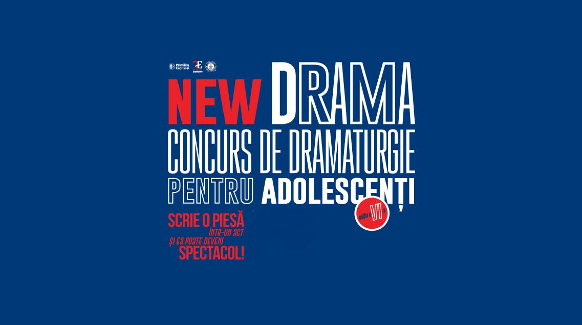 New Drama afiș concurs