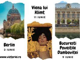 Berlin – București – Viena: 2 tururi ghidate online și o poveste afiș