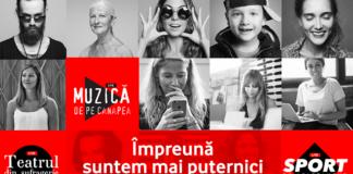 Vodafone Romania; Impreuna mai puternici; stayhome