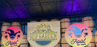 afiș Hop Garden