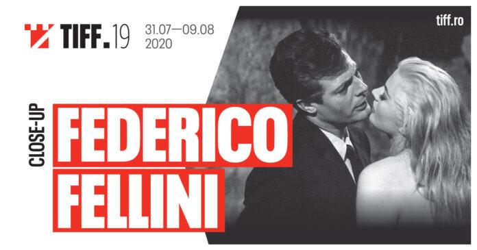 Close-up Federico Fellini la TIFF 2020 afiș