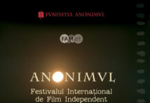 Festivalul Internațional de Film Independent ANONIMUL, afis
