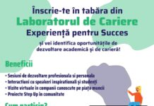 Afis tabara online Laboratorul de cariere