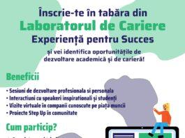 Afis tabara online Laboratorul de cariere