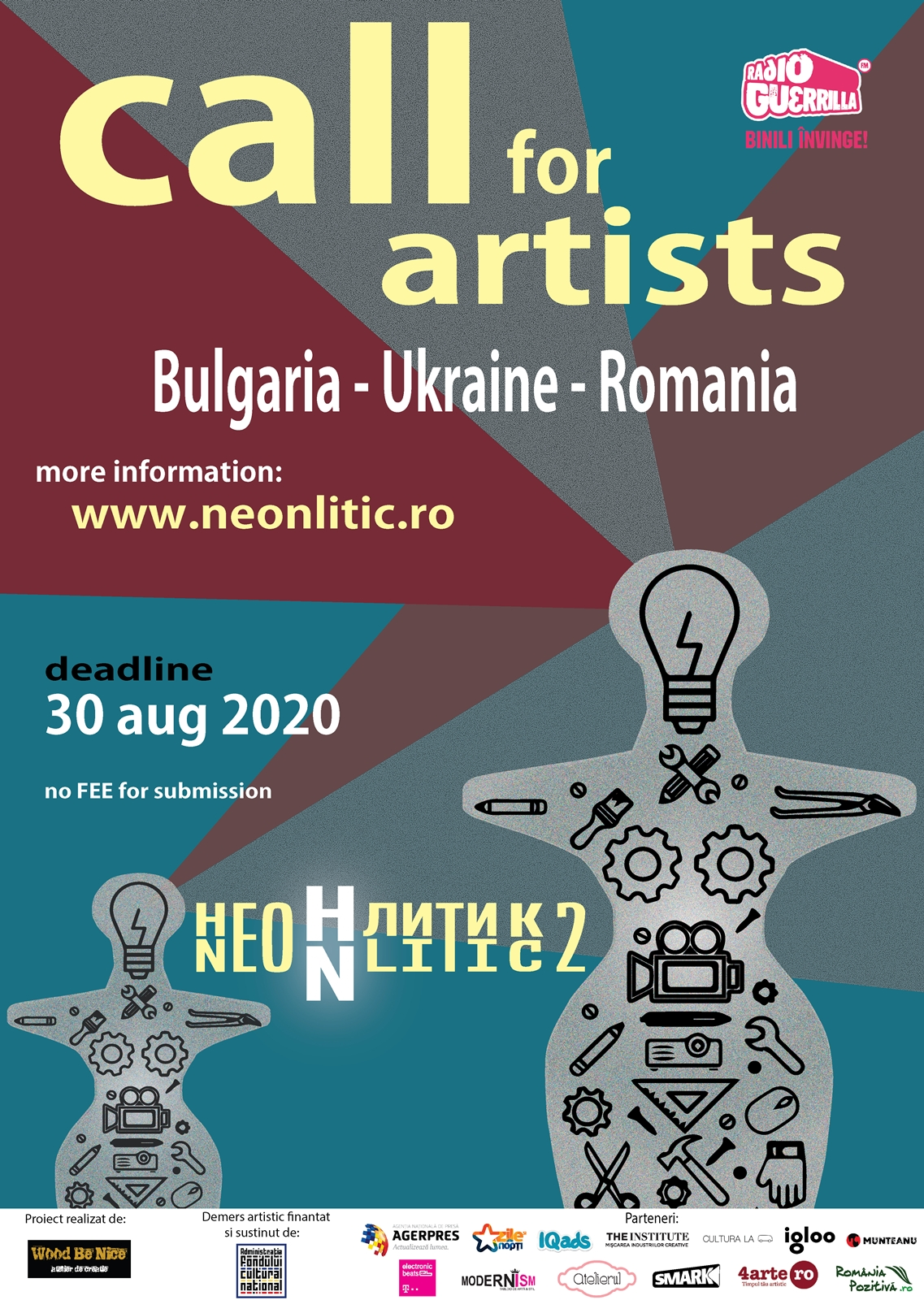 NeoNlitic 2_Call for artists afiș