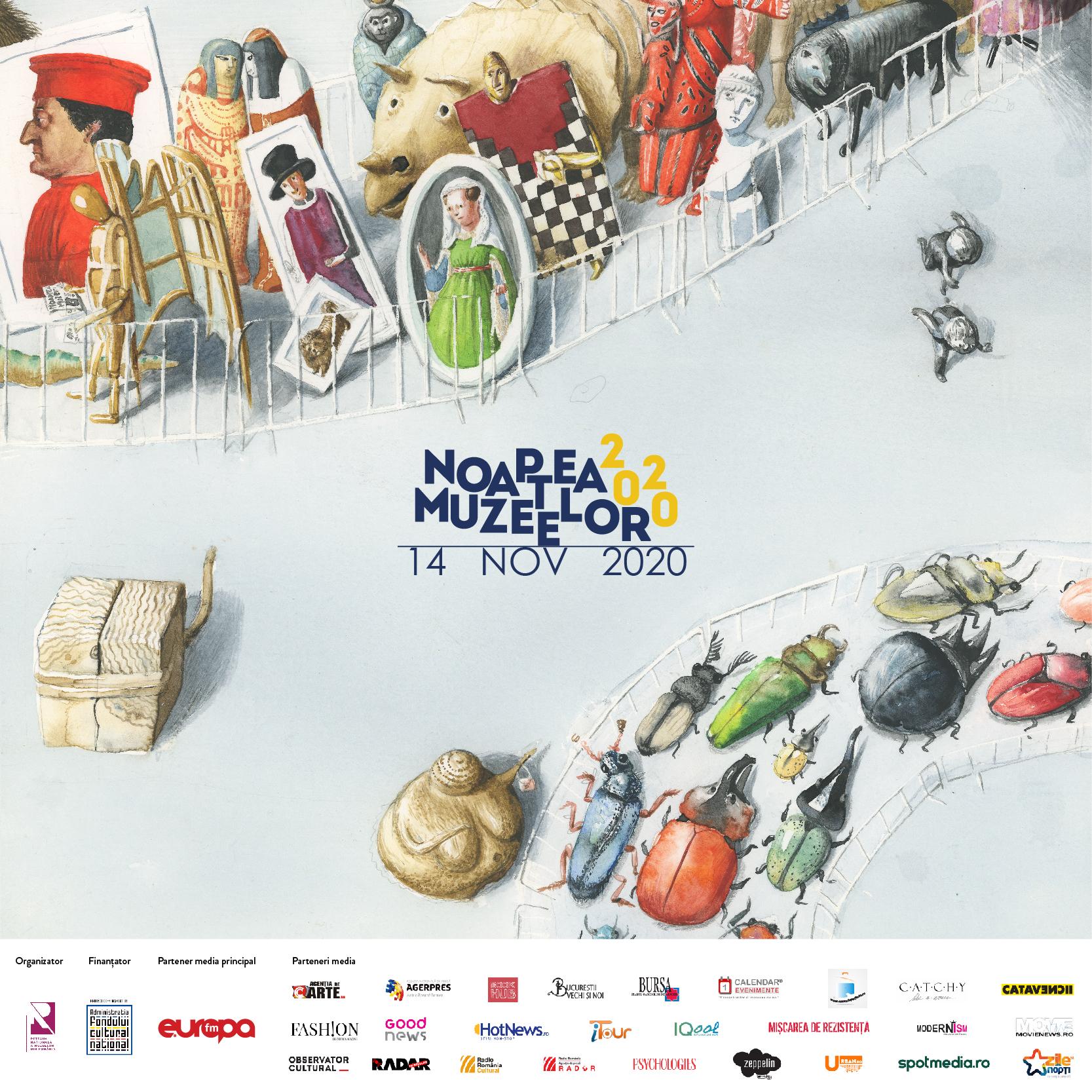 Noaptea Muzeelor 2020 afiș