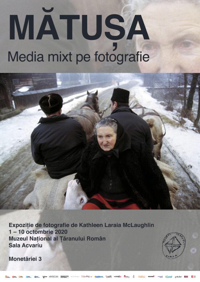 Mătușa. Media mix pe fotografie. Expoziție de Kathleen Laraia McLaughlin afiș