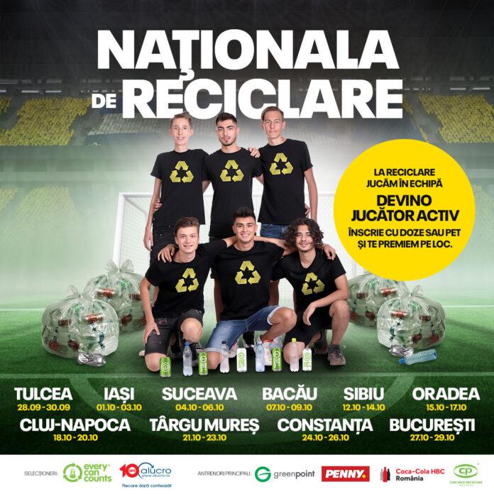 Naţionala de Reciclare afiș
